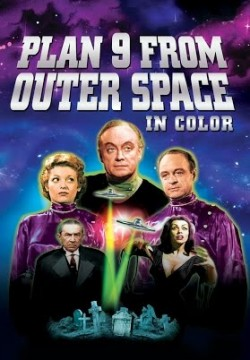 Plan 9 from Outer Space in Color poster