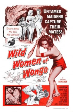 Wild Women of Wongo poster