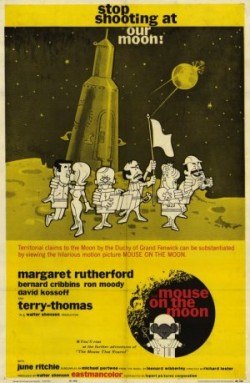 mouse on the moon poster